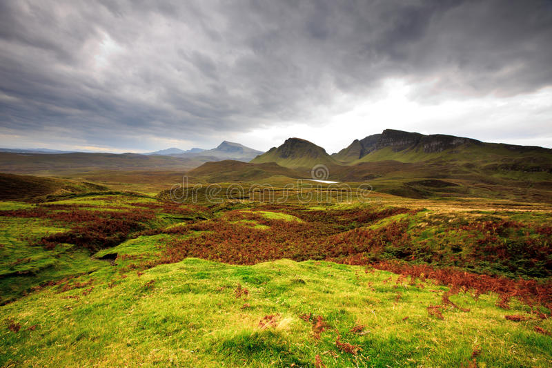 Scenic Landscape Of Quirang Stock Photography
