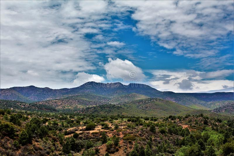 Salt River Canyon Wilderness Area, Tonto National Forest, Gila County, Arizona, United States stock photography