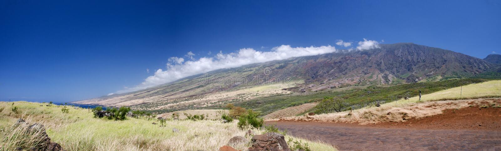 Scenic Maui Island S Coastline, Hawaii Stock Photo
