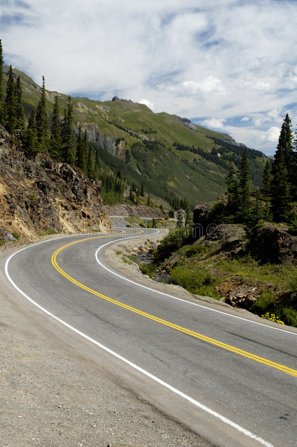 Free Scenic Mountain Highway Stock Image - 723681