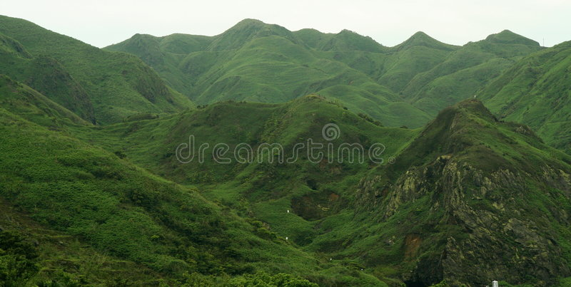 Scenic mountain landscape royalty free stock image