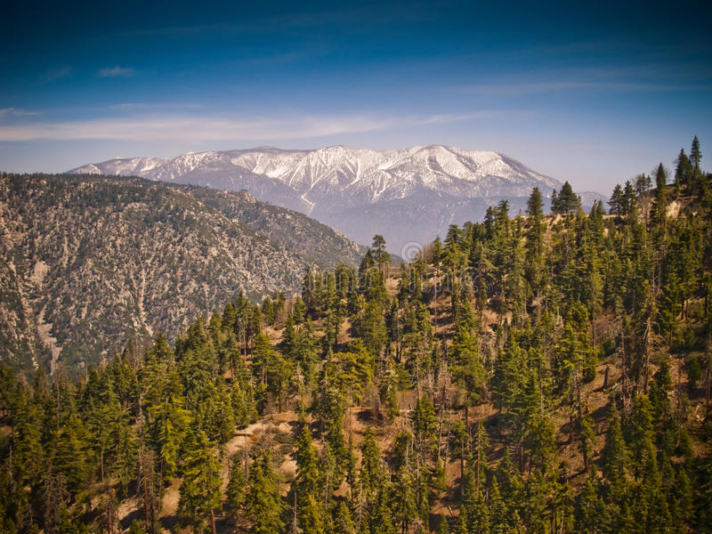 Scenic mountain view royalty free stock images