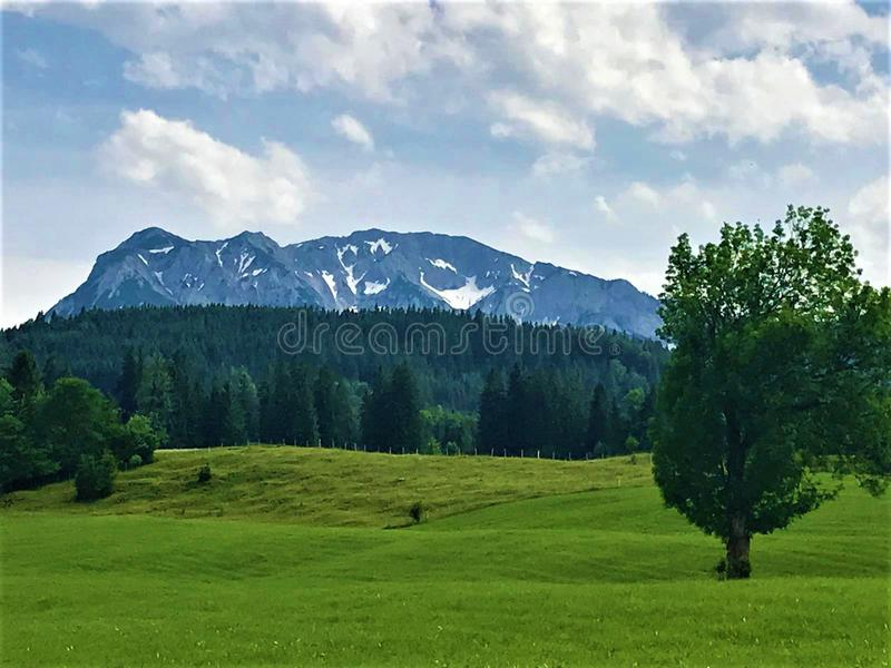 Scenic Mountain View of Austria royalty free stock image