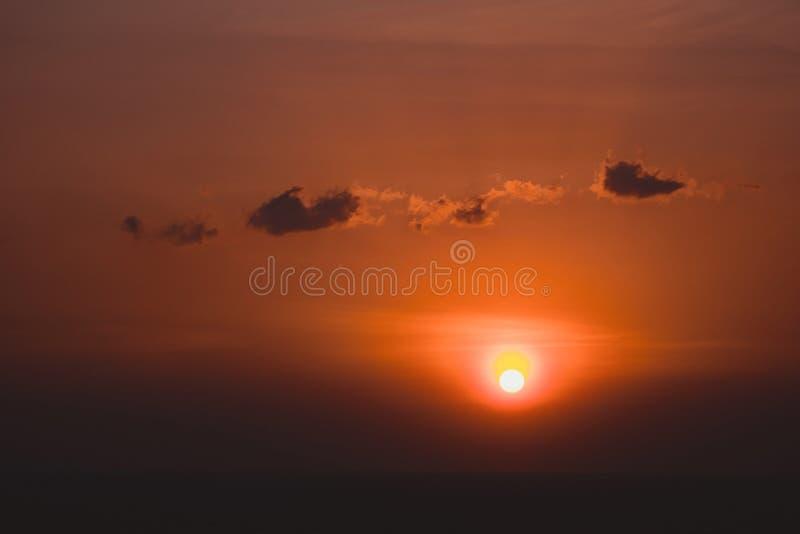 Scenic orange sunset sky background, scenic orange sunrise, relaxing seascape with wide horizon. Scenic orange sunset sky background, scenic orange sunrise stock photos