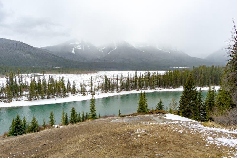 Scenic View over Alpine Plain royalty free stock photo