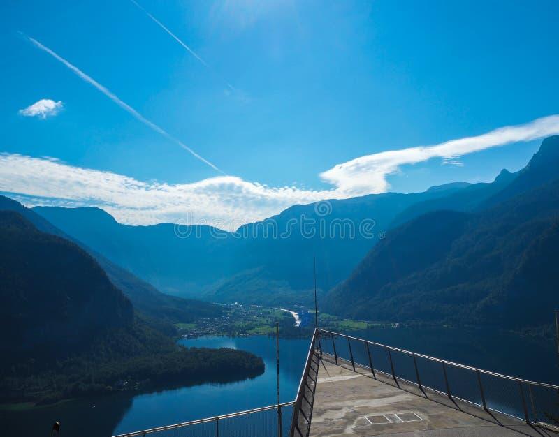 Scenic point of Hallstatt royalty free stock photos