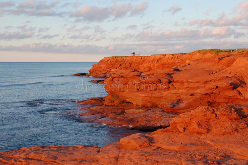 Scenic Prince Edward Island royalty free stock images