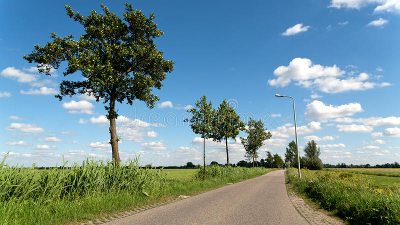 Download Scenic Road stock image. Image of netherlands, outdoor - 19604415