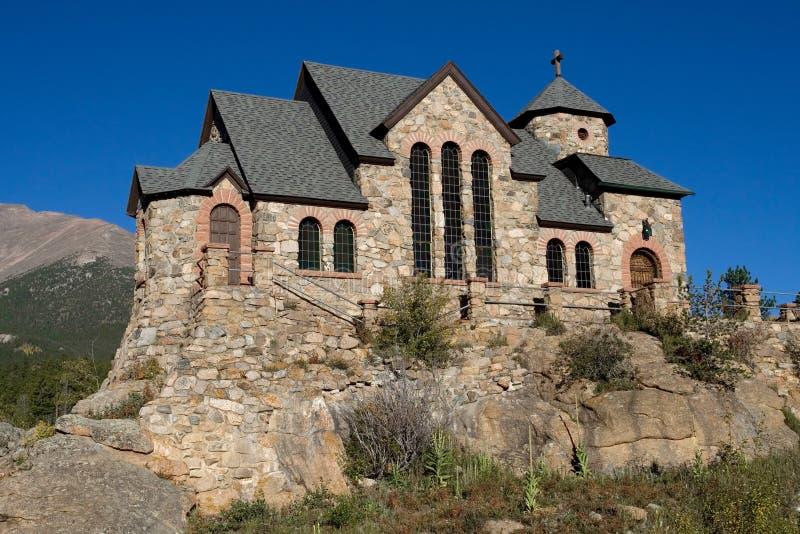 Scenic Stone Church royalty free stock photo
