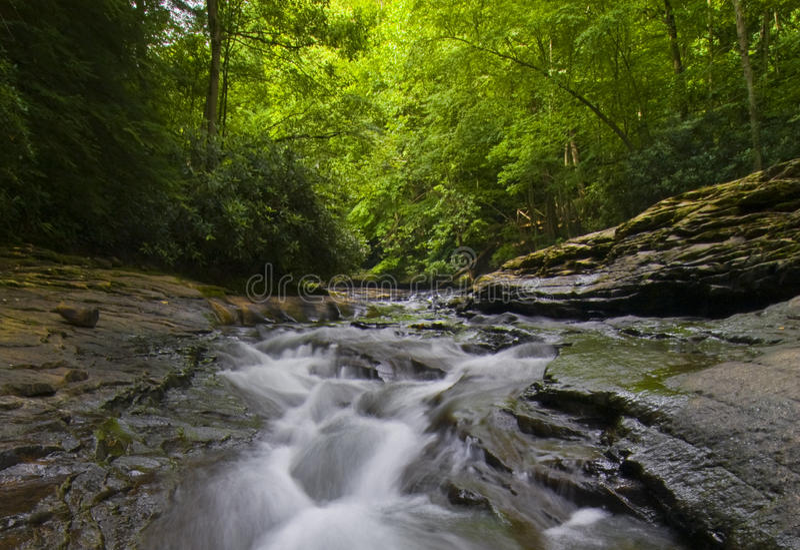 Scenic stream in Pennsylvania royalty free stock photos