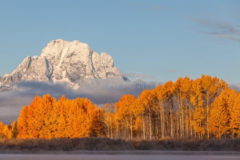 Scenic Teton Autumn Landscape royalty free stock images