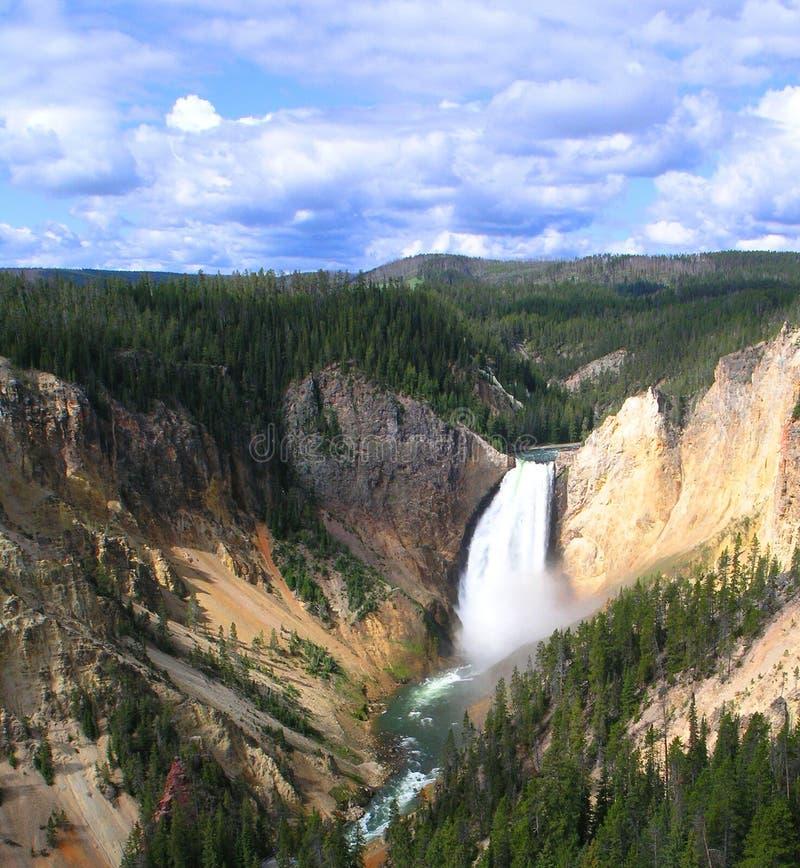 Scenic Upper Falls royalty free stock photo