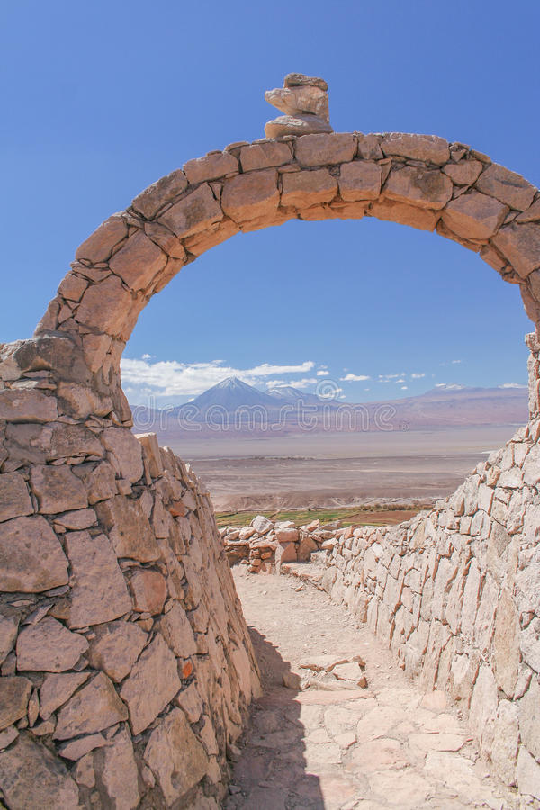 A scenic view of the Atacama desert stock images