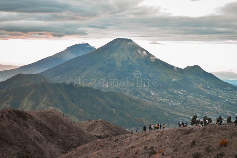 Scenic View Of Beautiful Mountain Range stock photos