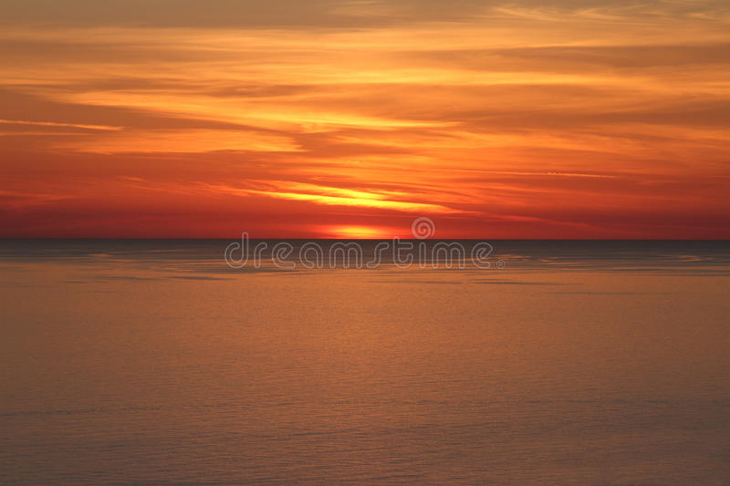 Download Beautiful Sunset Above The Sea Stock Photo - Image: 30067222
