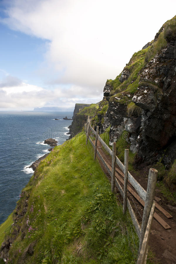 Download Scenic View Of Coast Of Mykines Stock Photo - Image: 21400780