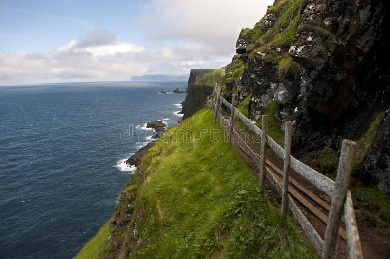 Download Scenic View Of Coast Of Mykines, Faroe Islands Stock Photos - Image: 21161003