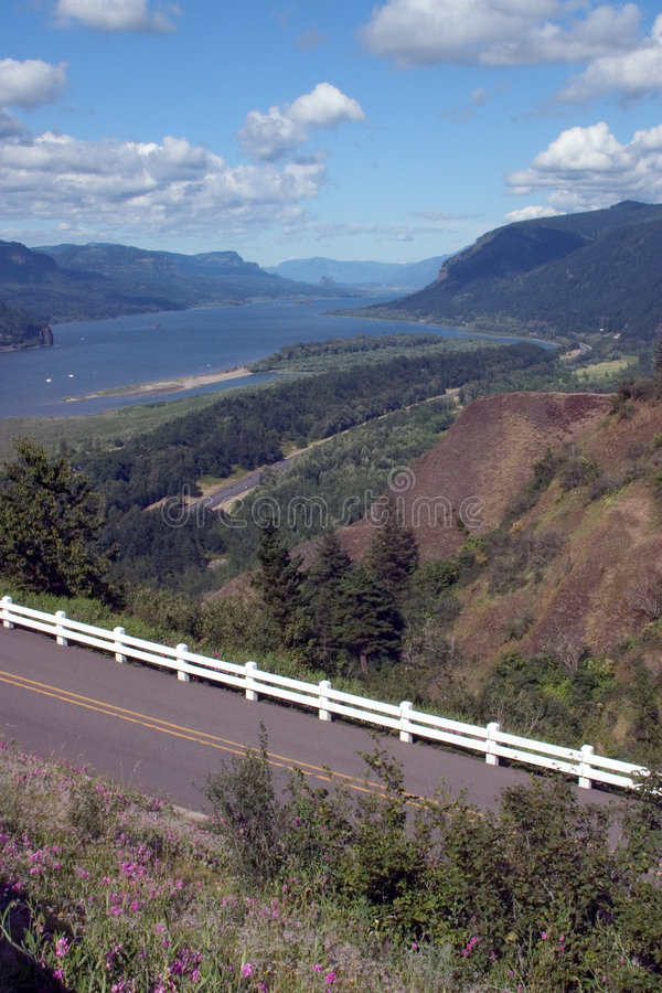 Download Scenic View Of Columbia River Gorge. Stock Photo - Image: 39398
