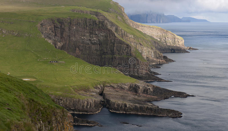 Scenic View Of Mykines Royalty Free Stock Images