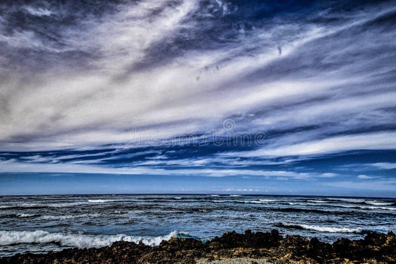 Scenic View Of Ocean stock photos