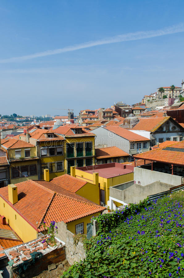 The scenic view of porto city royalty free stock images
