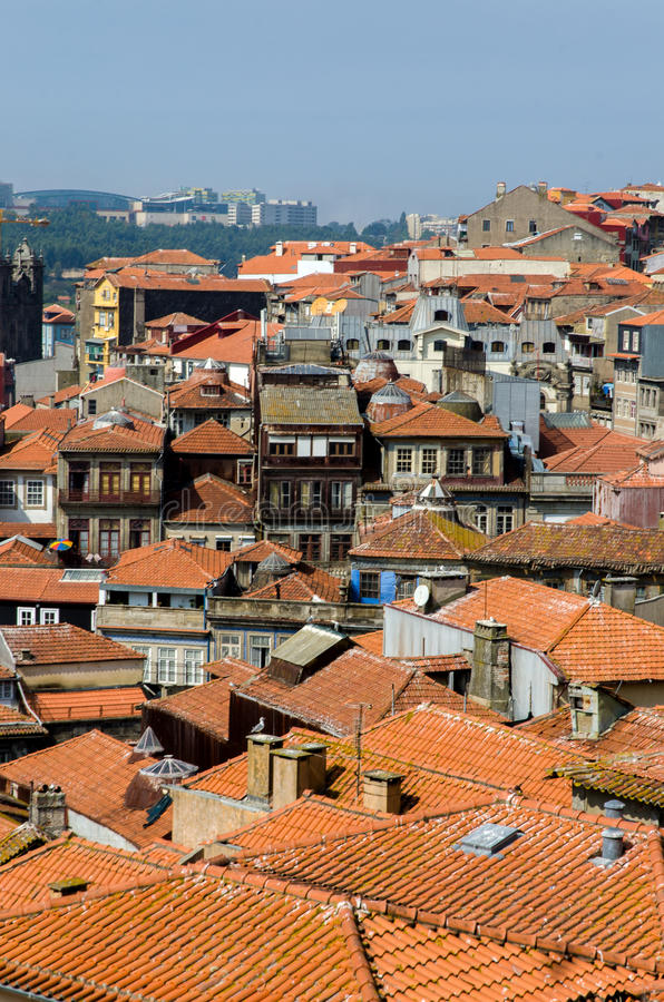 The scenic view of porto city royalty free stock photos