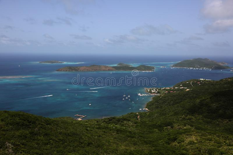 scenic view of Prickly Pear Island royalty free stock photo
