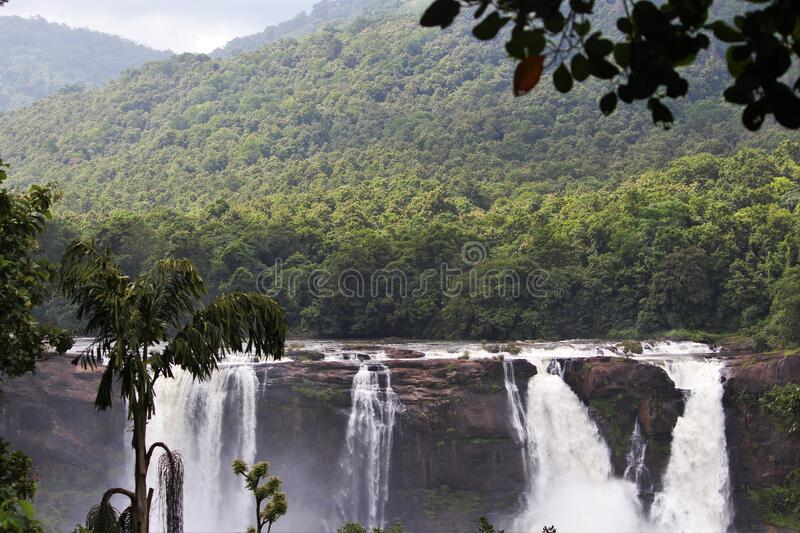 Scenic View Of Waterfall Free Public Domain Cc0 Image