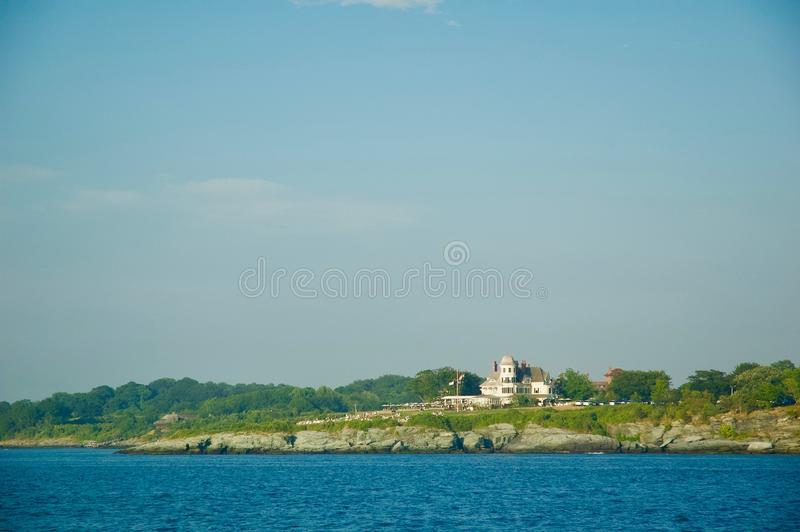 Scenic Views of Block Island in Rhode Island. stock image