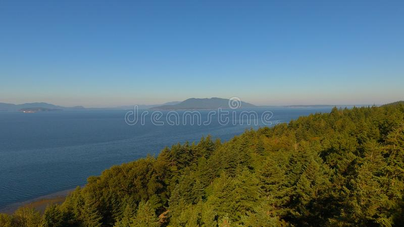 Scenic views from the Puget Sound royalty free stock photos