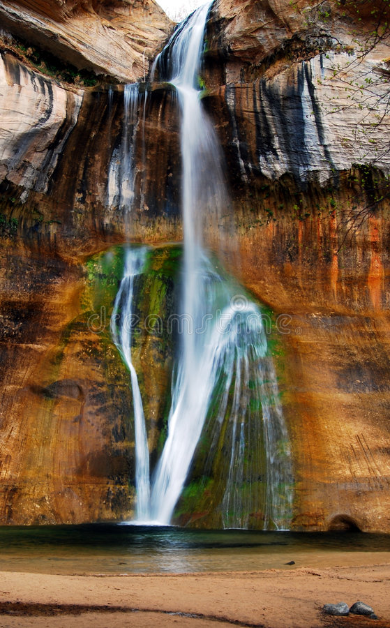 Scenic Waterfall royalty free stock photography
