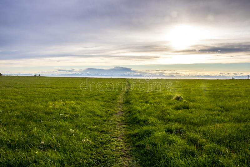 Scenico trascuri vicino a Ninilchik, Alaska fotografia stock libera da diritti