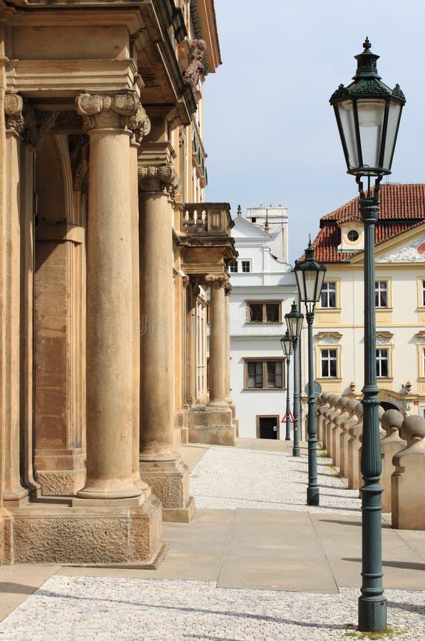 Scenico urbano di Praga fotografia stock