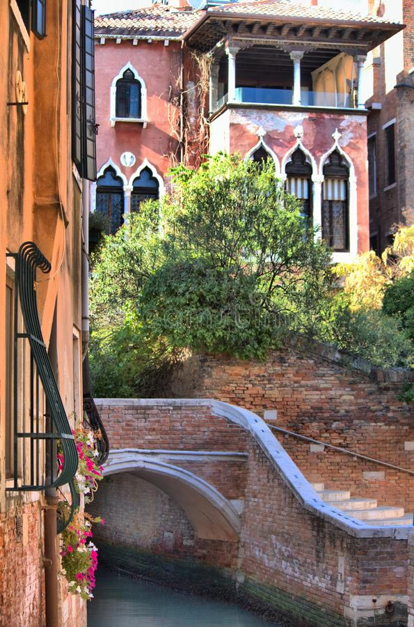 Scenico urbano di Venezia fotografia stock