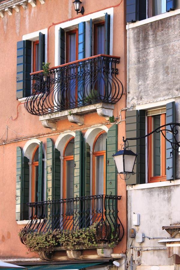Scenico urbano di Venezia immagini stock