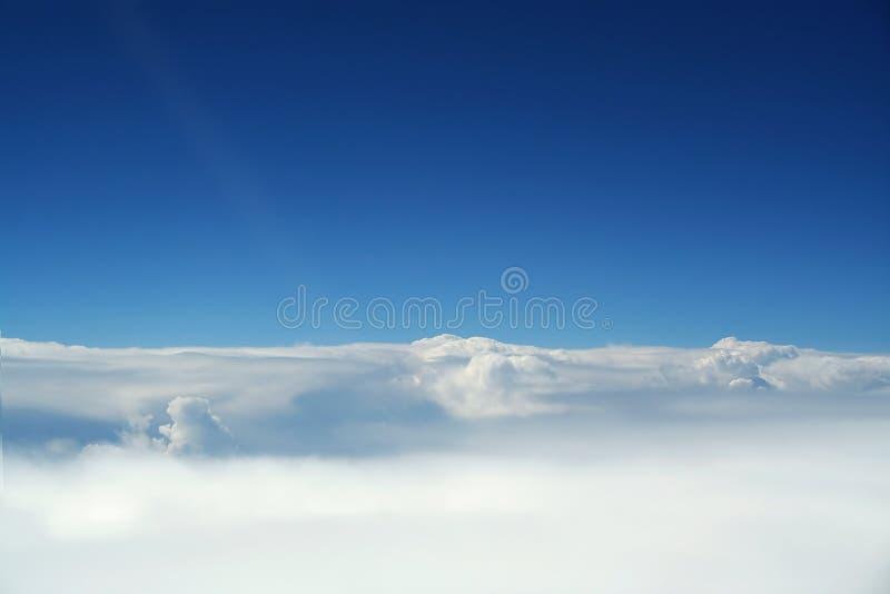 Scenics aérien, Cloudscapes photographie stock