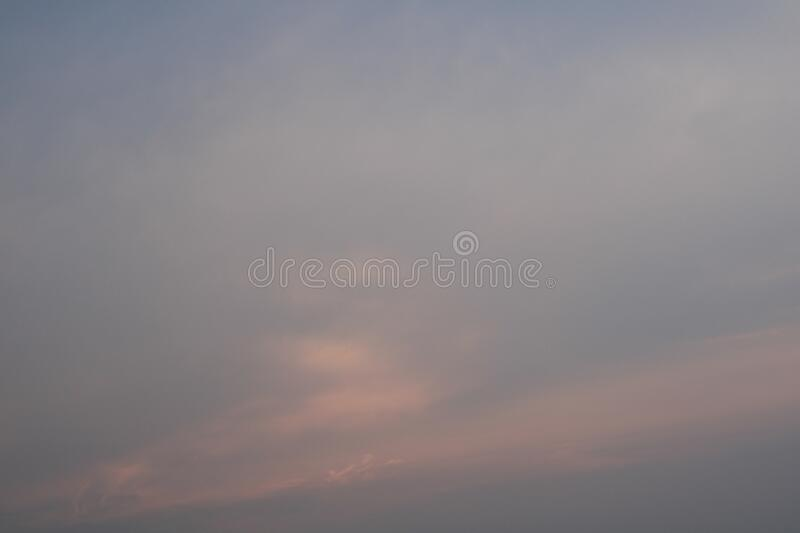 Scenics of the beauty sky with cloud. royalty free stock image