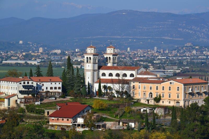 Scenics de Eslovênia e de Itália imagens de stock royalty free