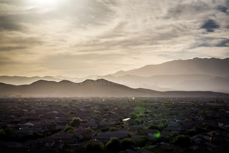 Scenics rosso della natura del Nevada del canyon della roccia immagini stock