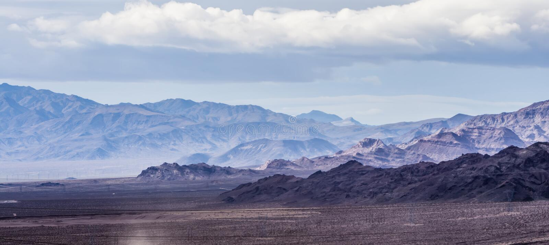 Scenics rouge de nature du Nevada de canyon de roche images libres de droits