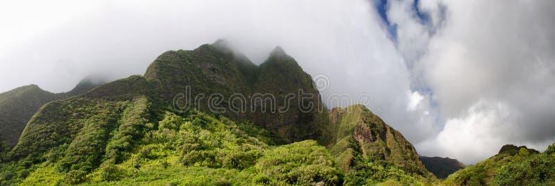 Sceniczna Maui wyspy linia brzegowa, Hawaje obraz stock