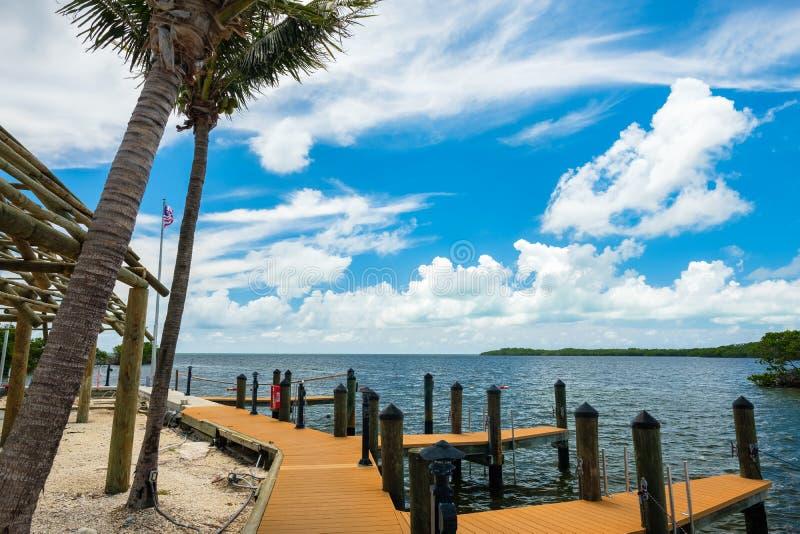 Sceniczni Floryda klucze fotografia stock
