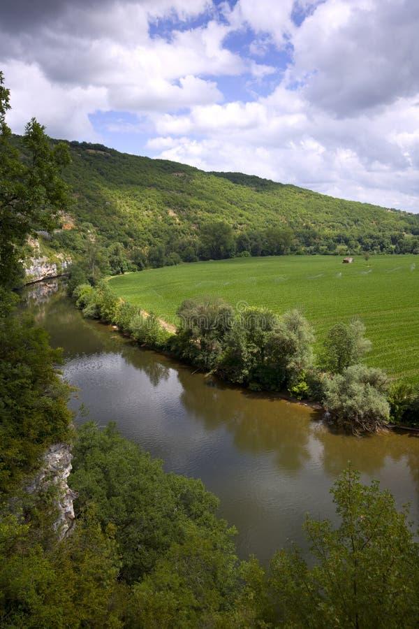 Sceniczny Francja - udział dolina zdjęcia stock
