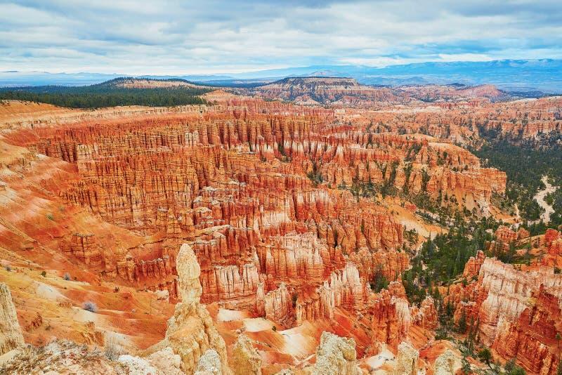 Sceniczny krajobraz w Bryka jarze, Utah, usa obrazy royalty free