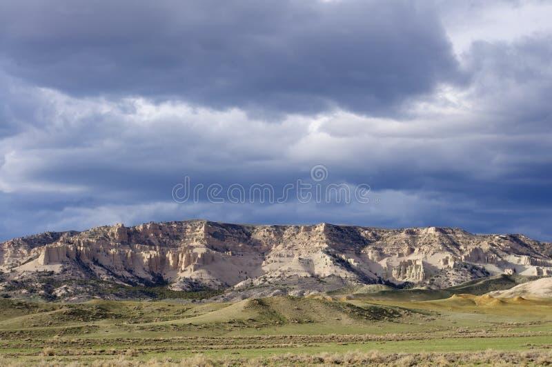 Sceniczny krajobraz Wyoming zdjęcie royalty free