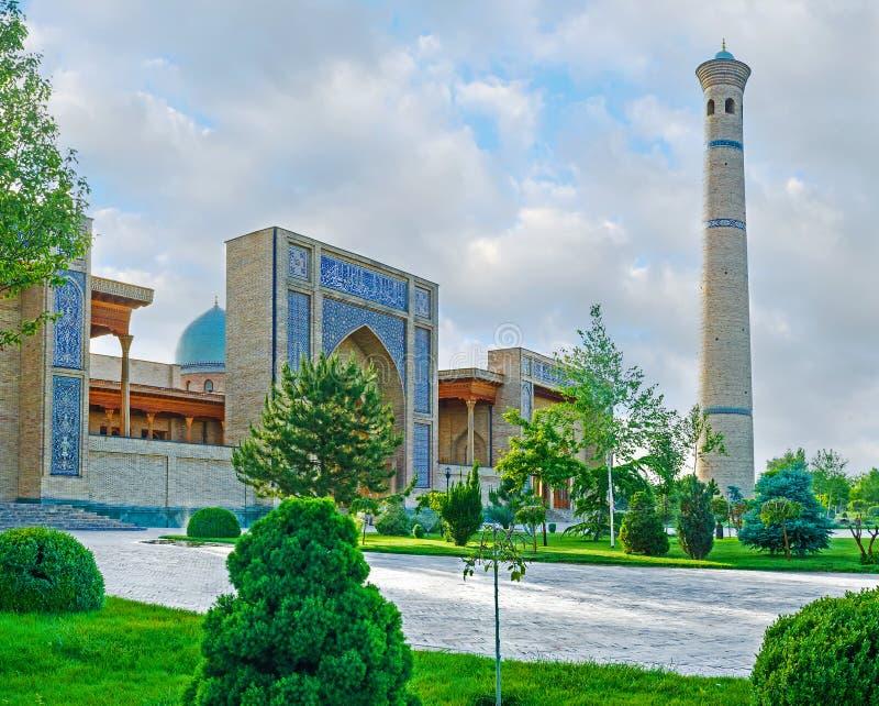 Sceniczny meczet obraz stock