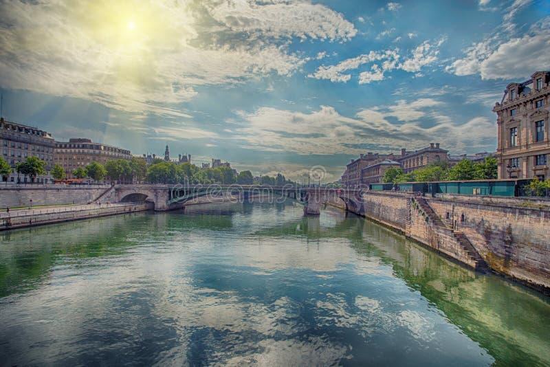 sceniczny Paris widok obrazy royalty free