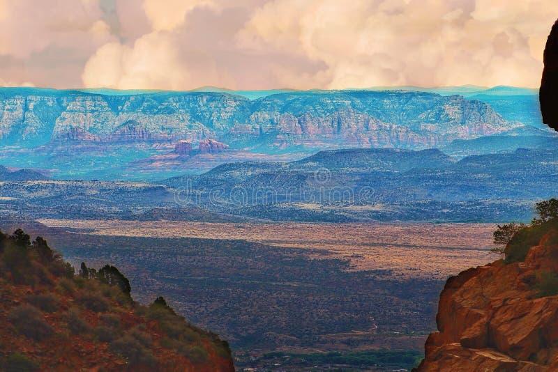Sceniczny widok Arizona zdjęcia stock