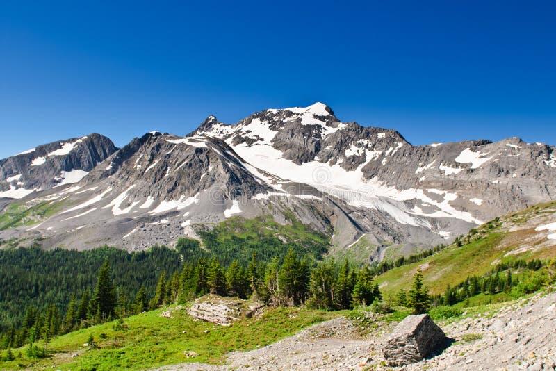 Sceniczny widok górski Kananaskis kraj Alberta Kanada obraz stock
