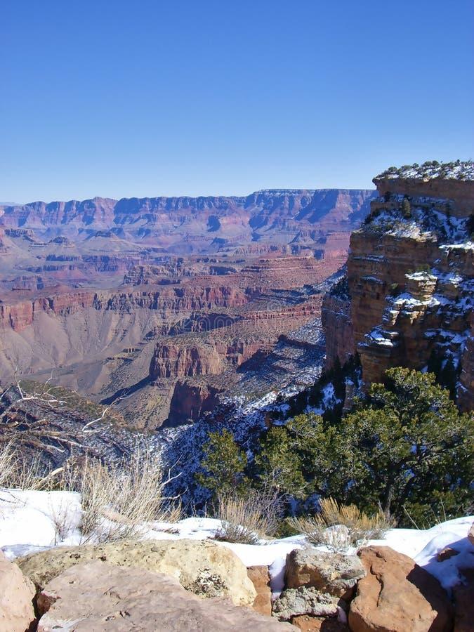 Sceniczny widok nad Grand Canyon zdjęcia royalty free
